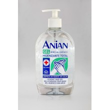 Gel Hidroalcohólico manos Anian