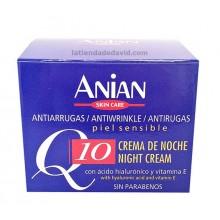 Crema facial Q10 Noche Anian