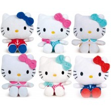 Peluche Hello Kitty Beanbags T/100